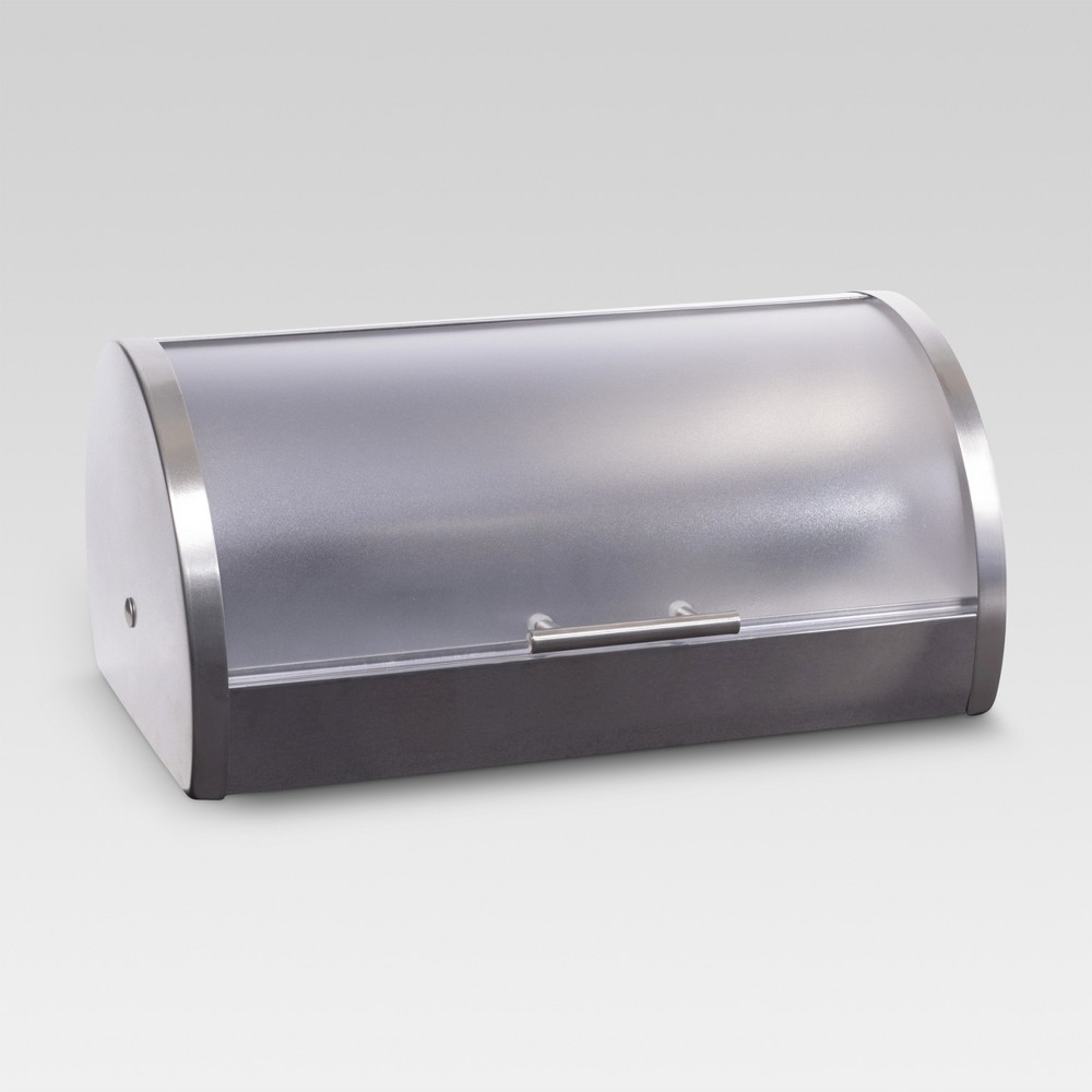 Bread Bin with Plastic Lid - Threshold