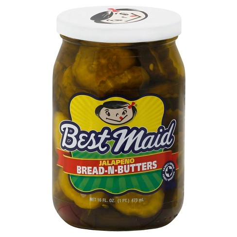 Best Maid Jalapeno Bread & Butter Pickles - 16oz - image 1 of 1