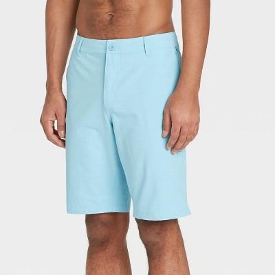 "Men's 10.5"" Hybrid Swim Shorts - Goodfellow & Co™ Polar Blue"