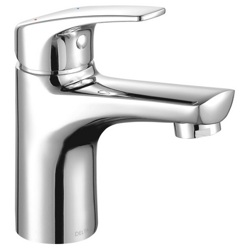Delta Faucet 534lf Pp Modern 1 2 Gpm Single Hole Bathroom Sink