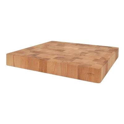 "16"" x 15"" Beechwood Natural Cutting Board - Hopper Studio"
