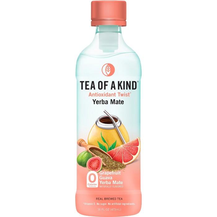 Tea of a Kind, Grapefruit Guava Yerba Mate Tea - 16 fl oz Bottle - image 1 of 1