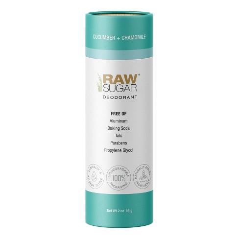 Raw Sugar Deodorant Cucumber + Chamomile - 2 oz - image 1 of 4