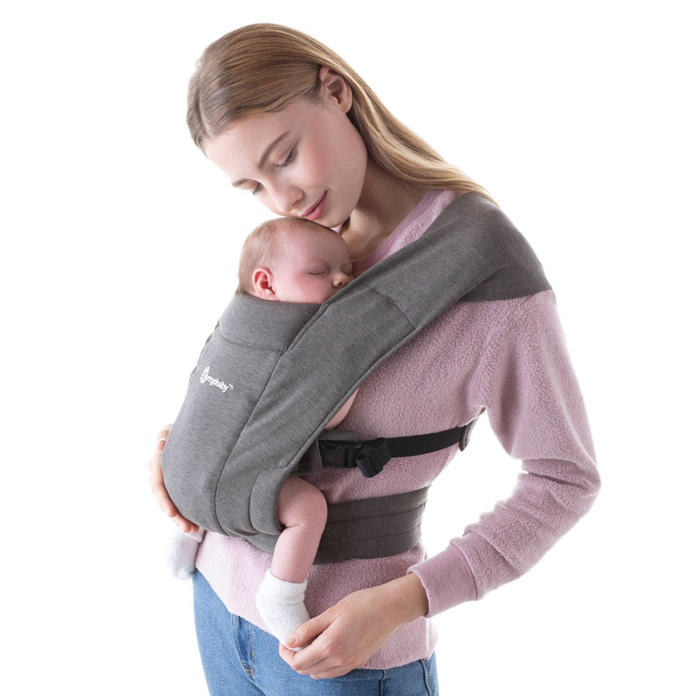 Image of Ergobaby Embrace Carrier - Heather Gray