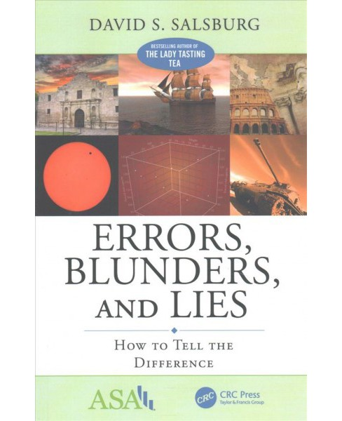 Errors, Blunders, and Lies : How to Tell the Difference (Paperback) (David S. Salsburg) - image 1 of 1