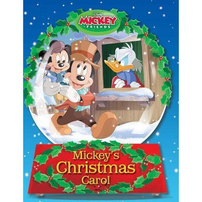 Disney Mickey's Christmas Carol - (Hardcover)