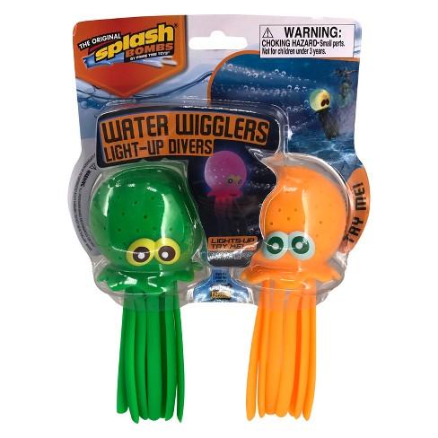 Splash Bombs® Water Wigglers Light-up Divers - image 1 of 2