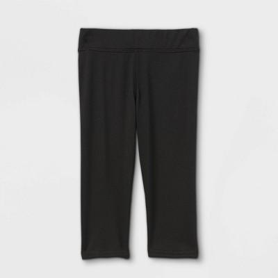 Toddler Girls' Capri Activewear Leggings - Cat & Jack™ Black