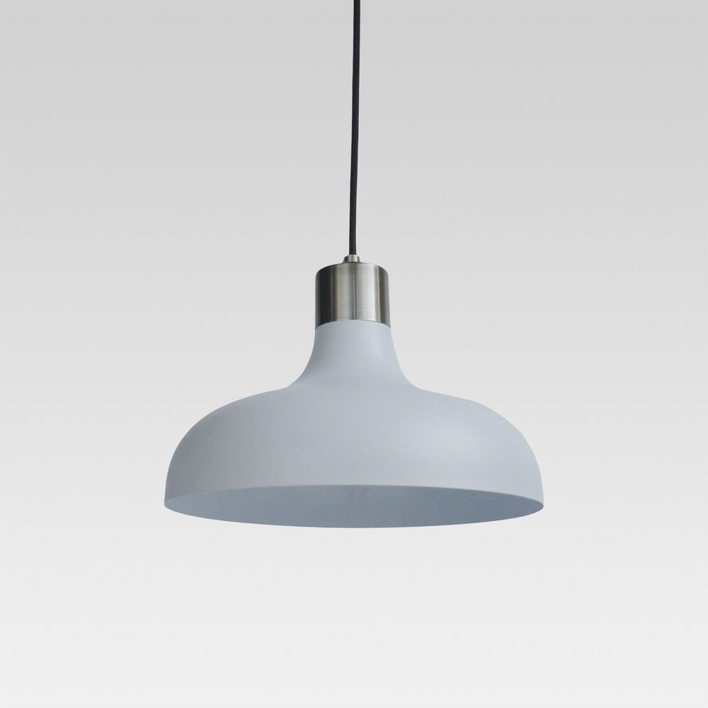 Crosby Small Pendant Ceiling Light White Lamp Only - Threshold