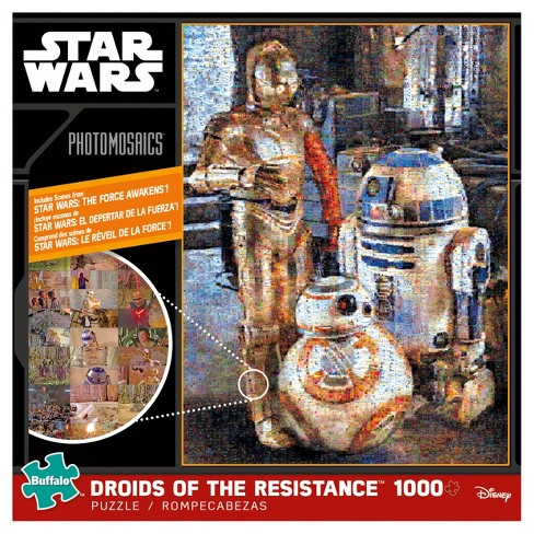 Buffalo Games Star Wars: Bb-8 Photomosaic Droids Of The Resistance Puzzle 1000pc - image 1 of 3