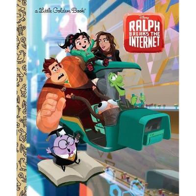 Ralph Breaks the Internet - (Little Golden Books) (Hardcover) - by Nancy Parent