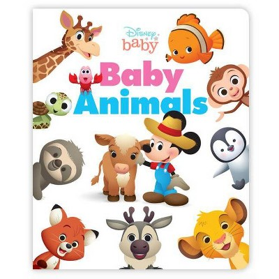 Disney Baby Animals - (Board Book)