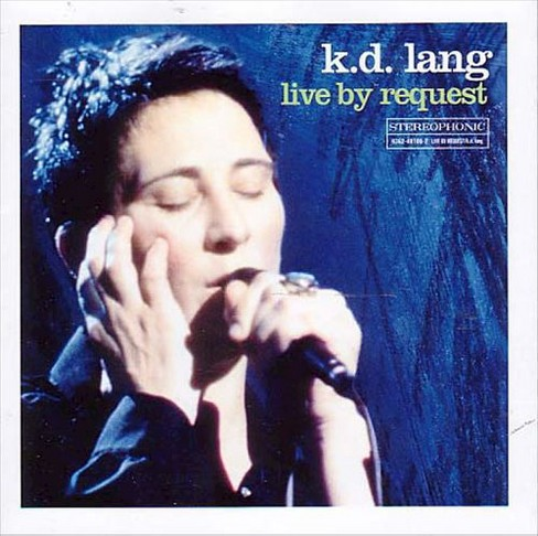 K.D. lang - Live by request (CD) - image 1 of 4