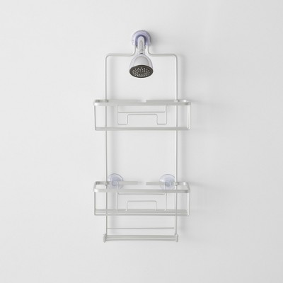 Large Aluminum Shower Caddy With Lock Top - Made By Design™
