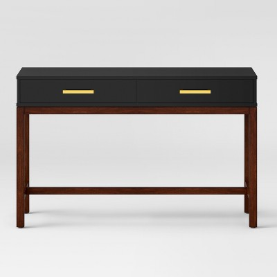 Guthrie Two Tone Console Table Matte Black   Project 62™