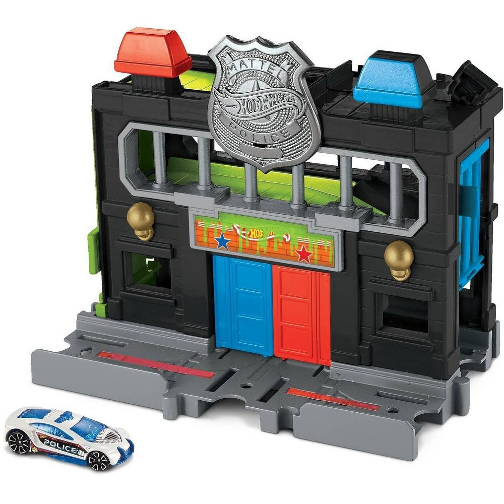 Hot Wheels City Downtown City Police Station