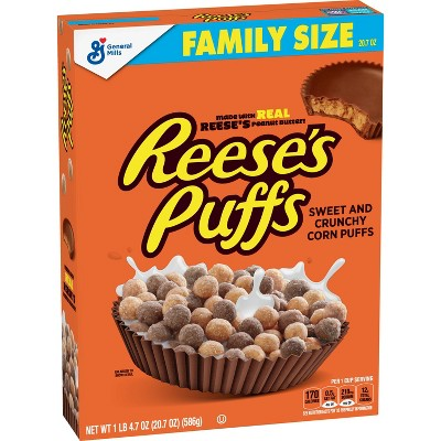 Reese's Puffs Breakfast Cereal - 20.7oz - General Mills