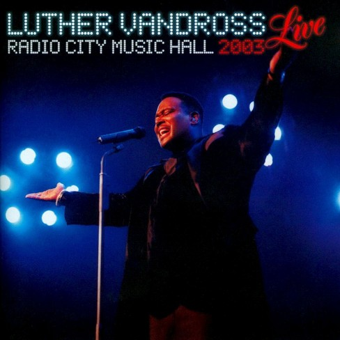 Luther vandross - Live 2003 at radio city music hall (CD) - image 1 of 1