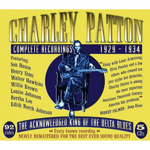 Charley Patton - Complete Recordings 1929-1934 (CD) - image 1 of 1