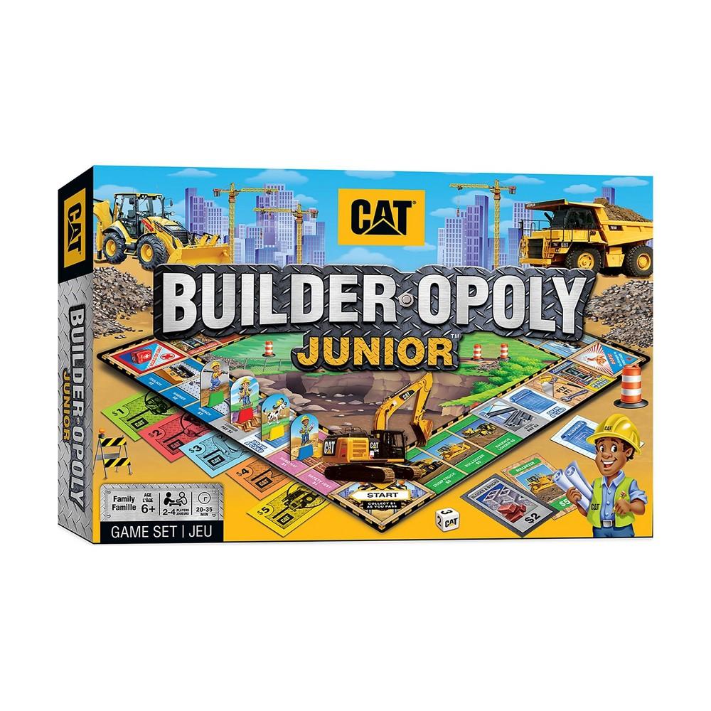 Caterpillar Builder Opoly Junior Game