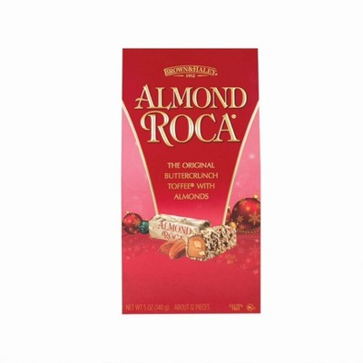 Roca Holiday Almond Buttercrunch Toffee Chocolates - 5oz