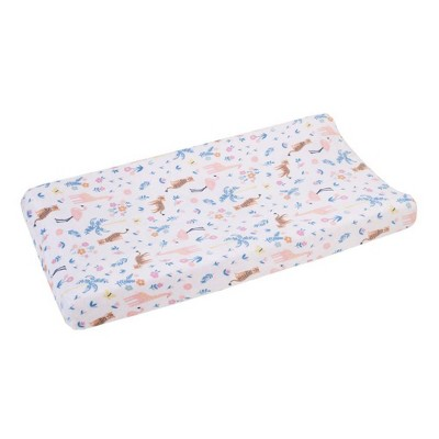 Carter's Tropical Super Soft Changing Pad Cover - Pink