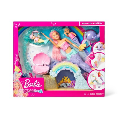 Barbie Dreamtopia Mermaid Nursery Playset and Dolls