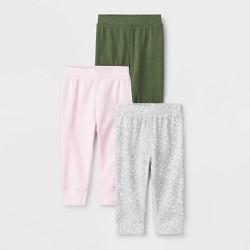 Baby Girls' 3pk Oh Honeybee Pants - Cloud Island™