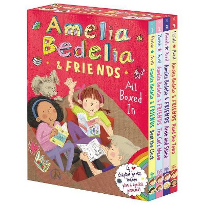 Amelia Bedelia & Friends Chapter Book Boxed Set #1: All Boxed in - by Herman Parish (Paperback)