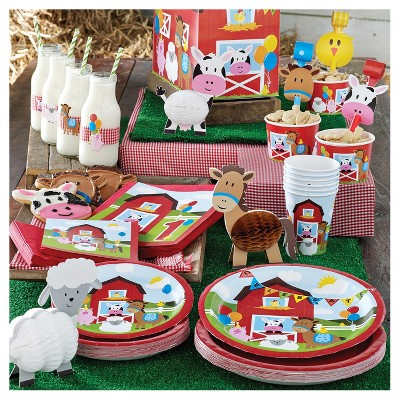 Farm Fun Birthday Party Supplies Collection Target