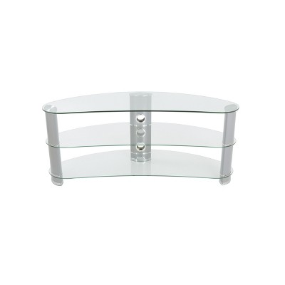 """60"""" Jelly Bean Curved TV Stand - AVF"""
