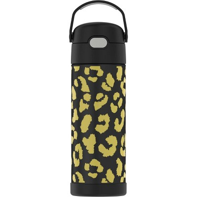 Thermos 16oz FUNtainer Water Bottle with Bail Handle - Cheetah