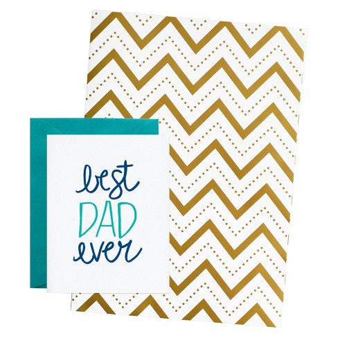meant to be sent® Father's Day Card With Matching Giftwrap Set - image 1 of 3