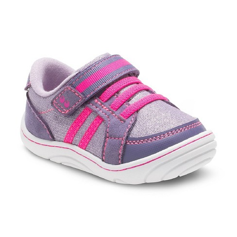 341b71b4543a Baby Girls  Surprize By Stride Rite® Patsy Sneakers - Purple   Target
