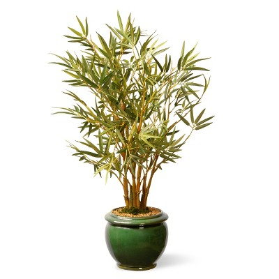 "Garden Accents Artificial Bamboo Plant Green 22"" - National Tree Company"