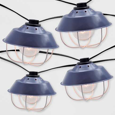 10ct Outdoor Cage String Lights - Threshold™ - image 1 of 3