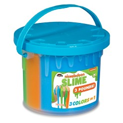 Nickelodeon Slime 3lb Bucket - Colors Mary Vary