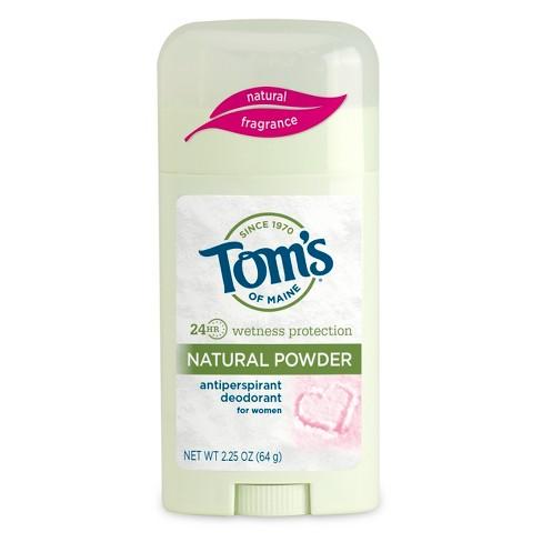 Tom's of Maine Powder Scent Antiperspirant Deodorant Stick for Women - 2.25oz - image 1 of 1