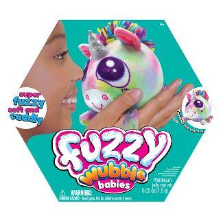 Fuzzy Wubble Babies - Unicorn