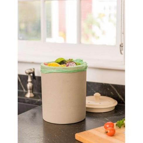 Stoneware Compost Crock - Gardener's Supply Company - image 1 of 1