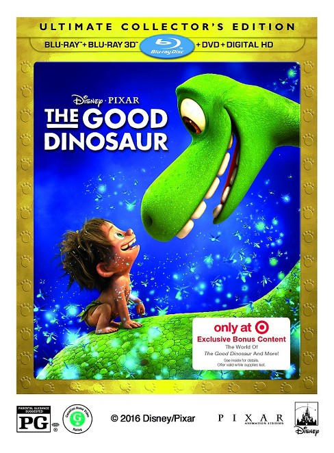 The Good Dinosaur - 3D Blu-ray/DVD (With Target Exclusive Bonus Content) - image 1 of 2