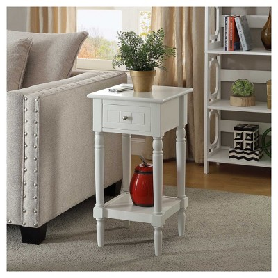 French Country Khloe Accent Table - Black - Convenience Concepts : Target