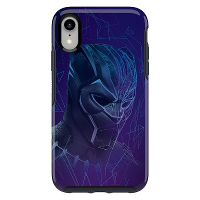 OtterBox Apple iPhone XR Marvel Symmetry Case - Black Panther