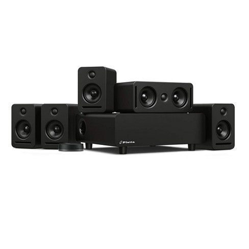 Platin Monaco 5.1 Plus WiSA SoundSend Immersive Wireless Home Audio System. Tuned by THX, WiSA Certified, 24-Bit High Resolution Audio System with Dolby Atmos 5.1.2 - image 1 of 4
