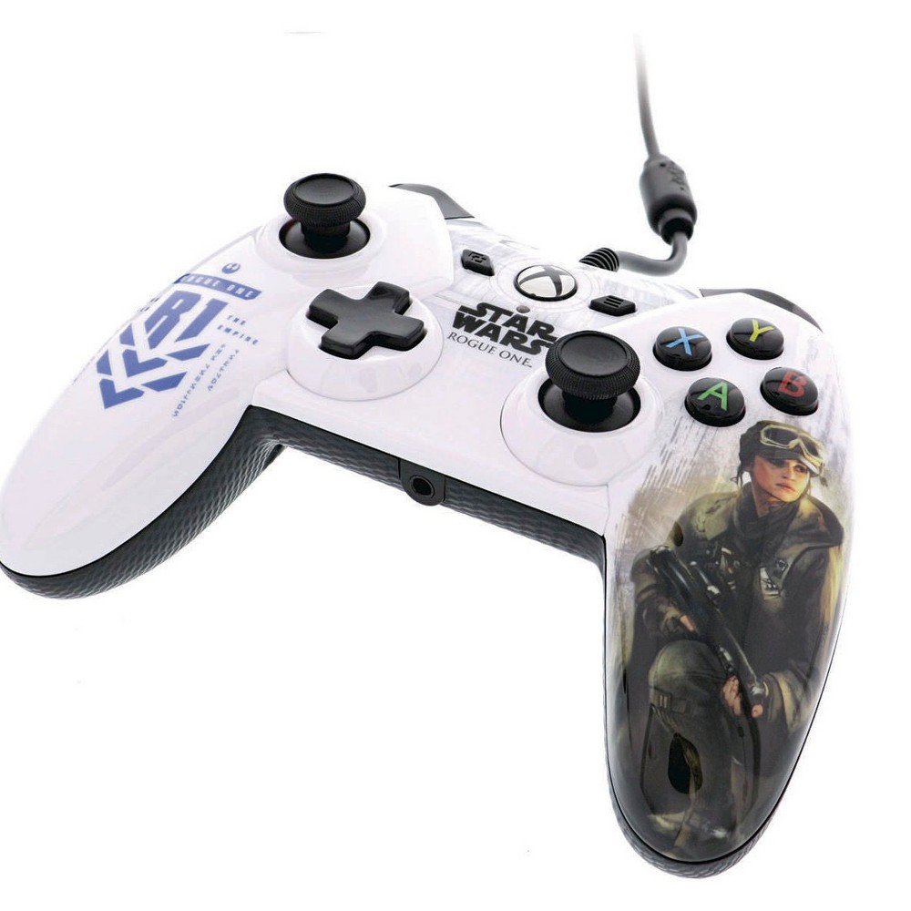 Power A Star Wars: Rogue One Controller for Xbox One - Rebel Alliance, Black
