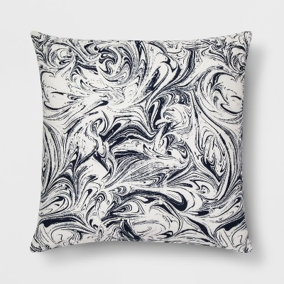 Blue Marble Throw Pillow - Room Essentials™