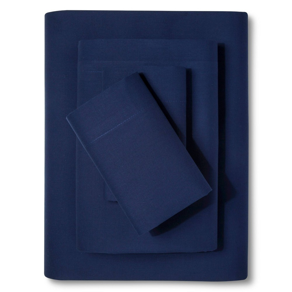 Easy Care Sheet Set Twin Admiral Blue Room Essentials 8482