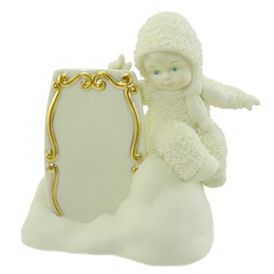 Dept 56 Snowbabies A Little Message To You Sign  -  Decorative Figurines