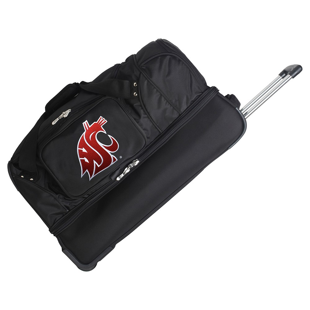 NCAA Washington State Cougars 27'' Rolling Drop Bottom Duffel Bag