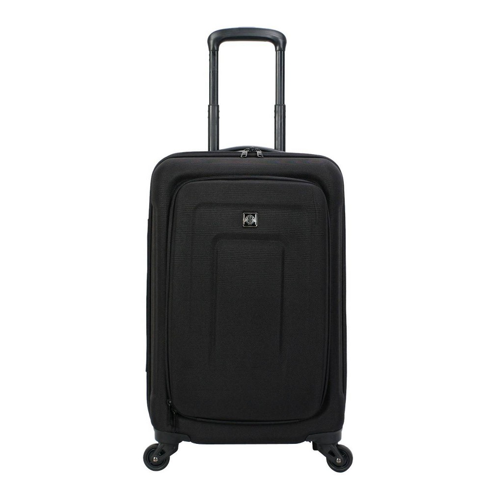 """Image of """"Skyline 21"""""""" Spinner Carry On Suitcase - Black"""""""